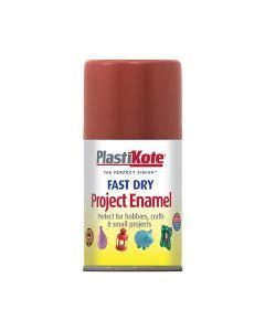 PlastiKote Project Enamel Paint Spray Insignia Red 100ml