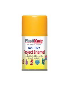 PlastiKote Project Enamel Paint Spray Sun Yellow 100ml