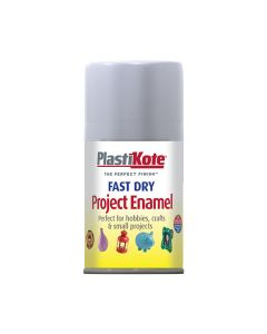 PlastiKote Project Enamel Paint Spray Silver 100ml