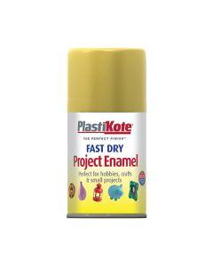 PlastiKote Project Enamel Paint Spray Gold Leaf 100ml