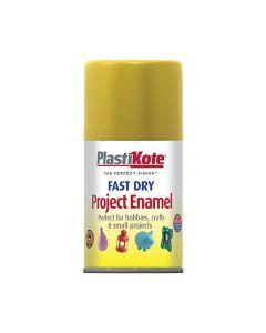 PlastiKote Project Enamel Paint Spray Antique Gold 100ml