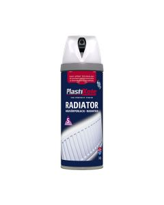 PLASTI-KOTE Spray - Radiator 400ml White Glss