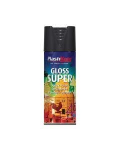 PLASTI-KOTE Spray - SUPER Gloss 400ml Black