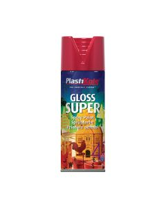 PLASTI-KOTE Spray - SUPER Gloss 400ml Bright Red