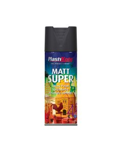 PLASTI-KOTE Spray - Super Matt 400ml Black