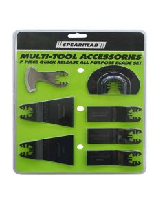 SPEARHEAD Multi Cutter Accessory Set 7pcs