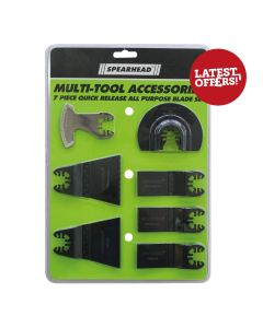 Spearhead Multi Cutter Accessory Set 7Pcs
