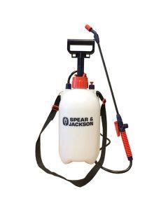 Spear & Jackson Pressure Garden Sprayer Bottle 5L