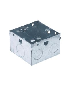 Electrics - Metal Back Box 1 Gang 47mm