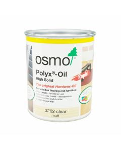 OSMO Polyx Hardwax Oil - RAPID Q/D 750ml Clear Matt