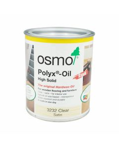 OSMO Polyx Hardwax Oil - RAPID Q/D 750ml ClearSatin