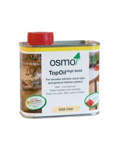Osmo Top Oil Wooden Kitchen Worktops Matt Clear 500ml