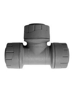 POLYPLUMB Push Fit - Equal Tee 22mm