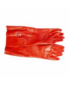 Gauntlet Gloves Red 45cm