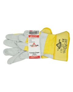 Gloves - Rigger CANADIAN Heavy Duty Yellow Rim