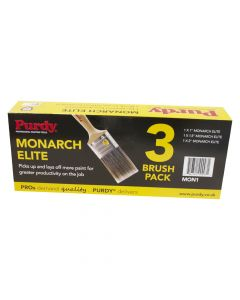 Purdy Paint Brush - Monarch Elite Set 3 1,11/2,2in