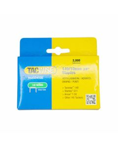 Tacwise Staples 140 Type 10mm Pack of 2000