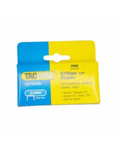Tacwise Staples 53 Type 6mm Pack of 2000