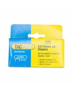 Tacwise Staples 53 Type 10mm Pack of 2000