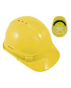 Hard Hat Safety Helmet Yellow