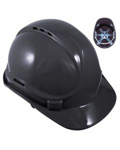 Hard Hat Safety Helmet Black