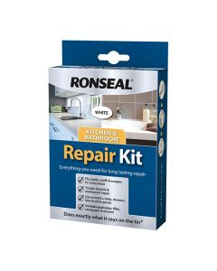 Ronseal Kitchen & Bathroom Repair Kit White 60g