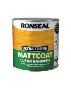 RONSEAL Ultra Tough Poly Varnish - Clear 2.5L