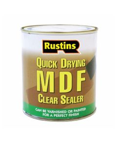 Rustins Quick Drying  MDF Primer Sealer Clear 1L
