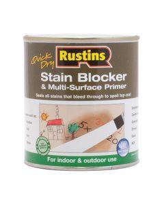 Rustins Quick Drying Stain Blocker Paint White 250ml