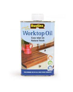 Rustins Quick Dry Worktop Oil Natural 500ml