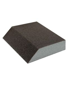 Sanding Block - Sponge Single Angle 100G