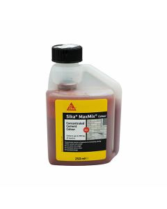 Sika MaxMix Concentrated Cement Colour Red 250ml