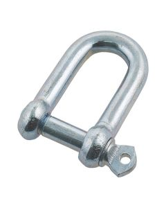 Galvanised D Shackle 8mm