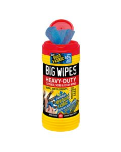 Big Wipes Heavy Duty Textured Red Tub 80 Wipes