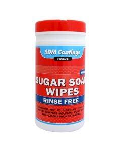SDM Coatings - Sugar Soap Wipes Tub -Red cap