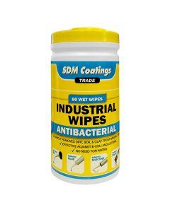 SDM Coatings Industrial Wipes Yellow Tub 80 Wipes