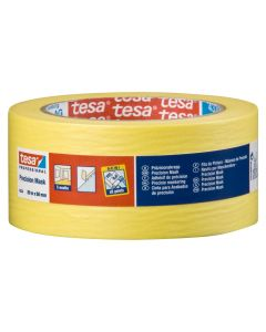 Tesa Precision Masking Tape Yellow 50mm x 50m Roll