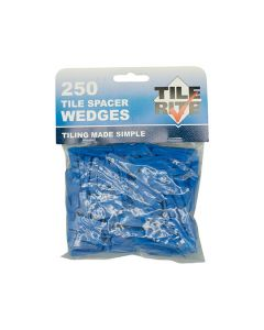 Tile Spacers Wedges 1-5mm Pack of 250