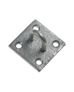 Galvanised Staple On Plate 35x50mm