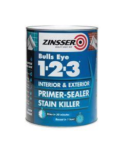 ZINSSER Bulls Eye 1-2-3 Primer Stain Block 5L