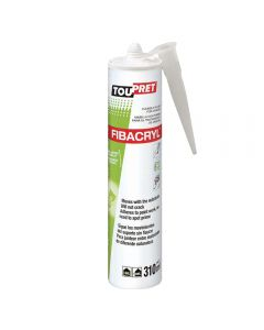 TOUPRET Fibacryl - Flexible Crack Treat Joints up to 10mm 310ml