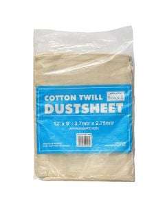 SEAGULL Cotton Dustsheet 12x9ft
