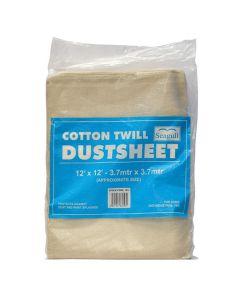 Seagull Cotton Twill Dustsheet 12ft x 12ft