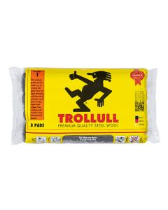 Trollull Steel Wool Medium 150g 8 Pads