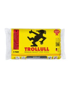 Trollull Steel Wool Coarse 150g 8 Pads