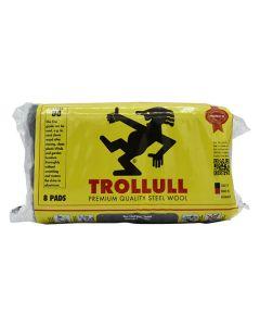 TROLLULL Steel Wool 8 Pads 150g