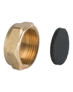 Brass Fitting - Blanking Nut/Cap 1/2in
