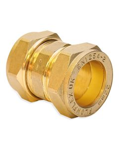 Compression Straight Connector Coupling 15mm
