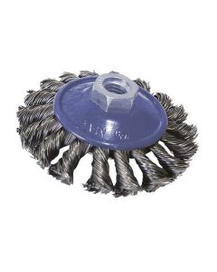 Wire Cup Brush For Angle Grinder Steel Twisted Wheel WireM14 100mm