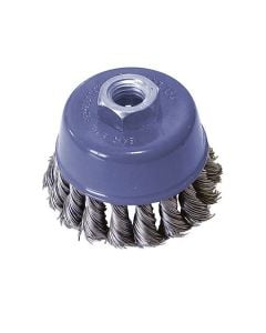 Wire Cup Brush For Angle Grinder Steel Twisted Wheel WireM14 75mm
